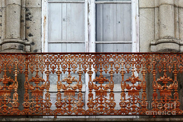 Photograph - Rusty Old Balcony by James Brunker