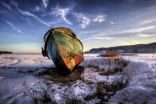 Abandonment Wall Art - Photograph - Rusty Old Boad by Jakub Sisak