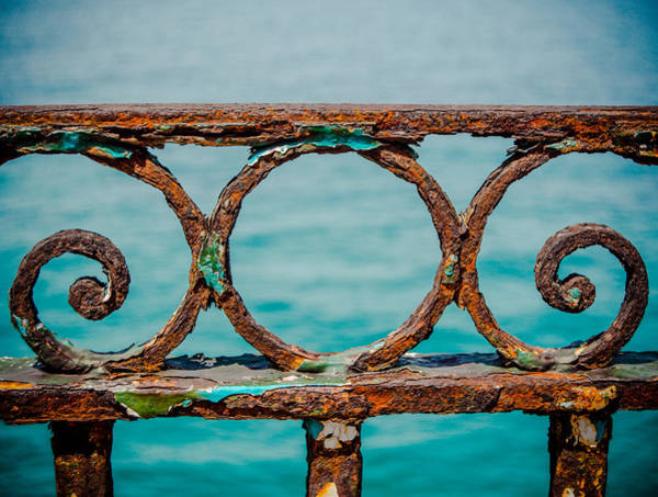 Wall Art - Photograph - Rusty Railings In Marseille by Mr Doomits
