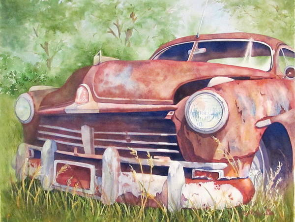 Oxidation Painting - Rusty Relic by Daydre Hamilton