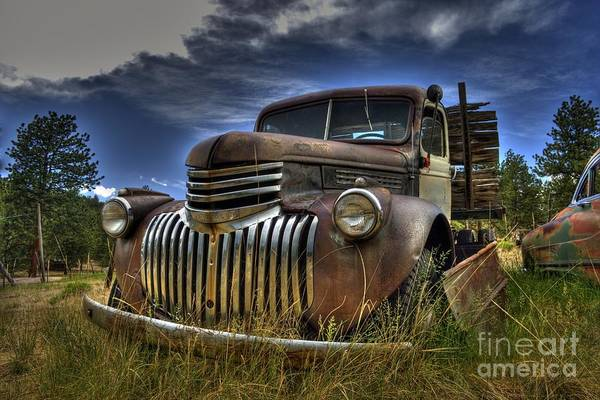 Photograph - Rusty Relic by Tony Baca