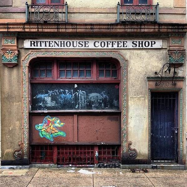 Landmark Wall Art - Photograph - Rusty Rittenhouse by Katie Cupcakes