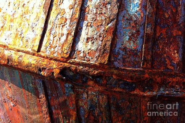 Photograph - Rusty Side by Carol Groenen