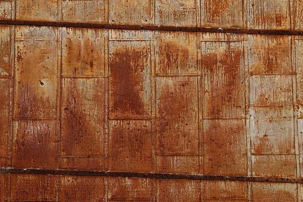 Photograph - Rusty Texture by Jonathan Davison
