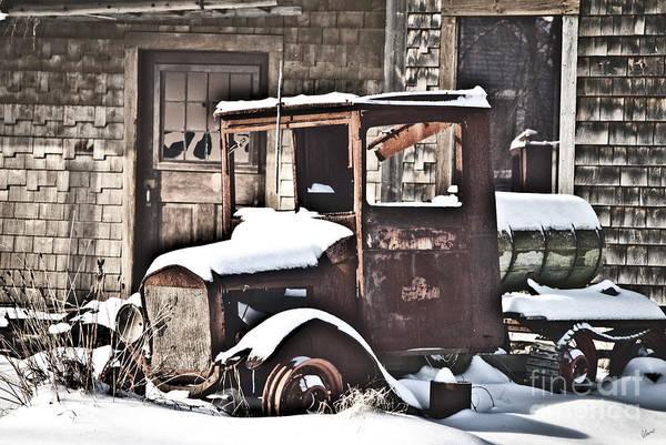 Photograph - Rusty Truck by Alana Ranney