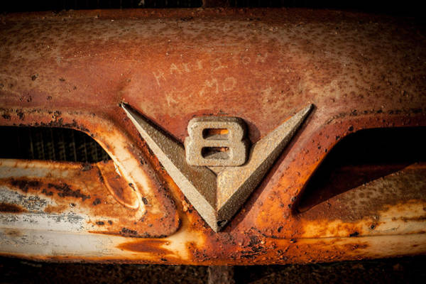 Choctawhatchee Bay Photograph - Rusty V8 by Paul Bartoszek