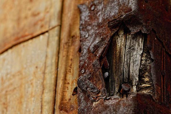 Photograph - Rusty Wound by Jonathan Davison