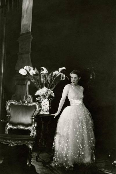 Photograph - Ruth Gordon Performing In Serena Blandish by Cecil Beaton