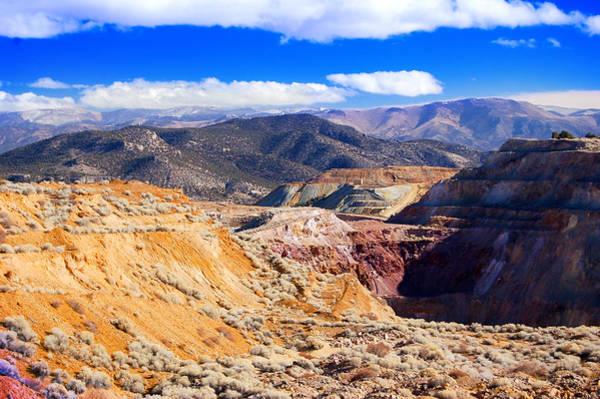 Photograph - Ruth Northern Nevada by Gunter Nezhoda
