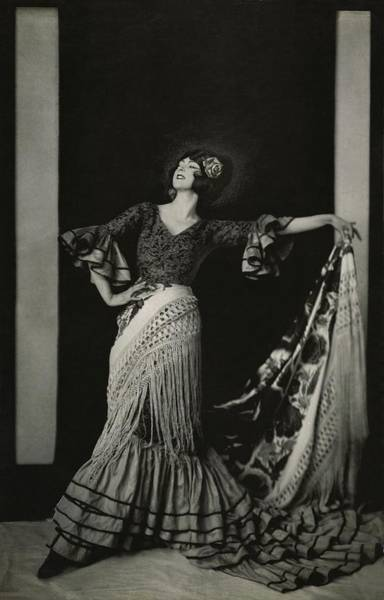 Gitana Wall Art - Photograph - Ruth St. Denis In Costume by Edward Steichen