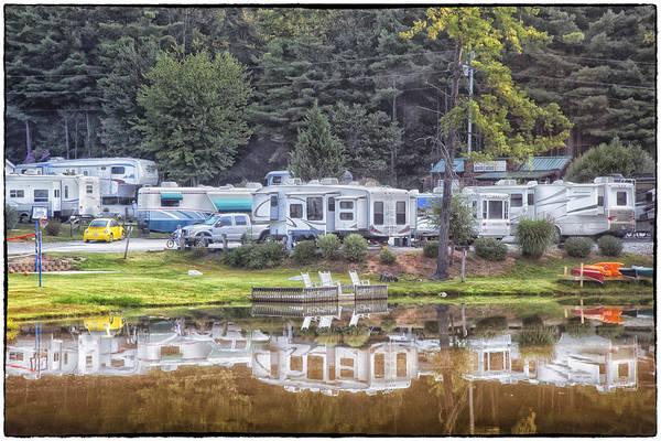 Photograph - Rutledge Lake Rv Park Lake Asheville Nc by Jo Ann Tomaselli