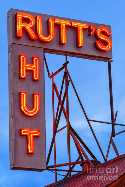 Diner Wall Art - Photograph - Rutt's Hut by Jerry Fornarotto