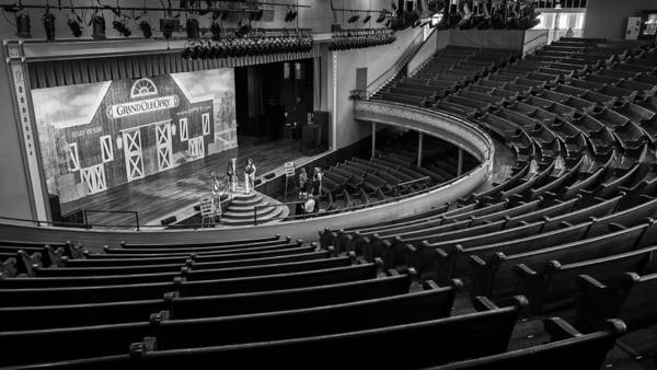 Photograph - Ryman Stage by Glenn DiPaola