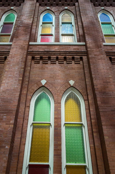 Ryman Auditorium Photograph - Ryman Windows by Glenn DiPaola