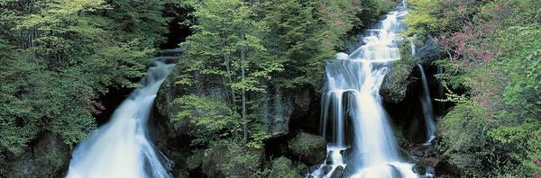 Nikko Photograph - Ryuzu Waterfall Nikko Tochigi Japan by Panoramic Images