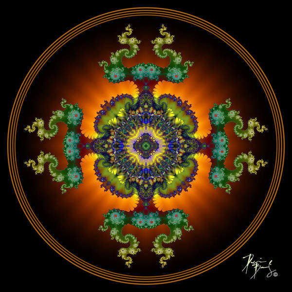Digital Art - S-23 by Dennis Brady
