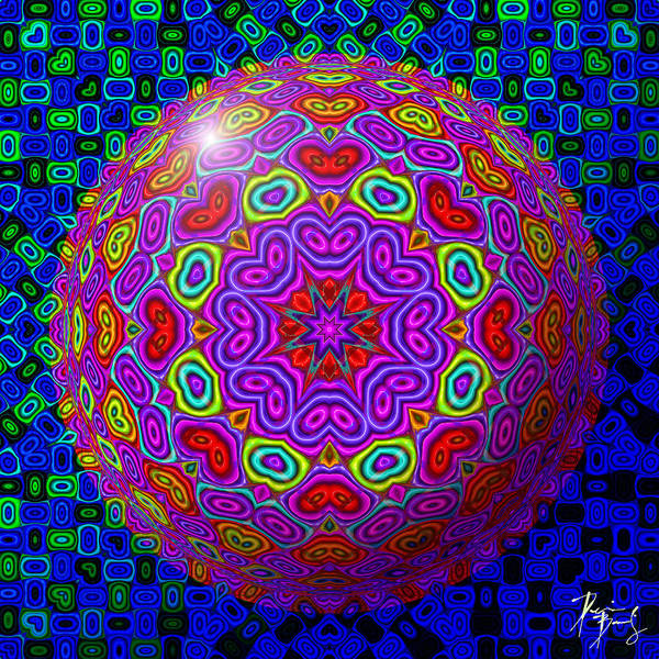 Digital Art - S-40 by Dennis Brady