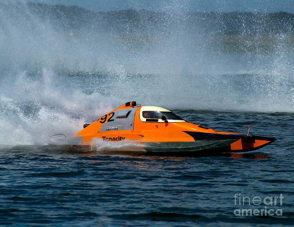 Photograph - S-92 Tenacity Hydroplane by Nick Zelinsky