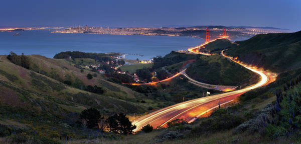 Marin Headlands Photograph - S Marks The Spot by Vicki Mar Photography