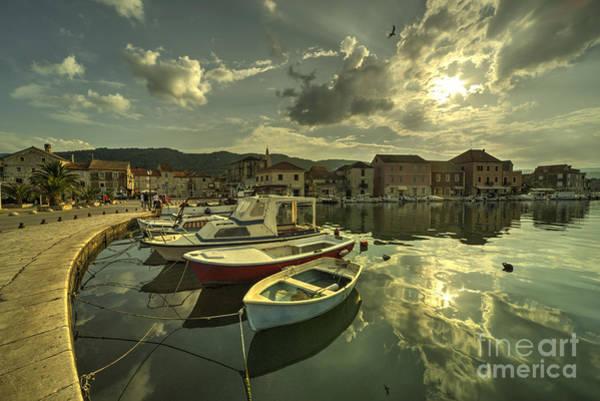 Stari Photograph - Stari Grad Boats  by Rob Hawkins