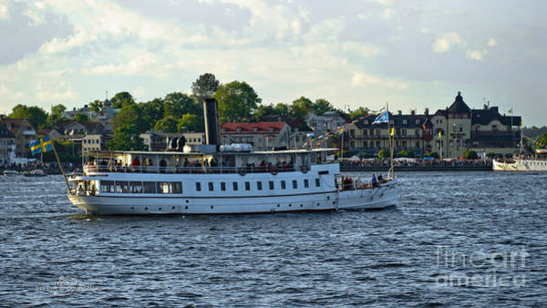 Photograph - S/s Mariefred Approaching Vaxholm by Torbjorn Swenelius