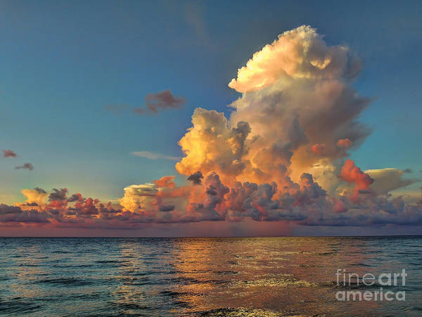 Photograph - Sanibel Island Clouds by Jeff Breiman