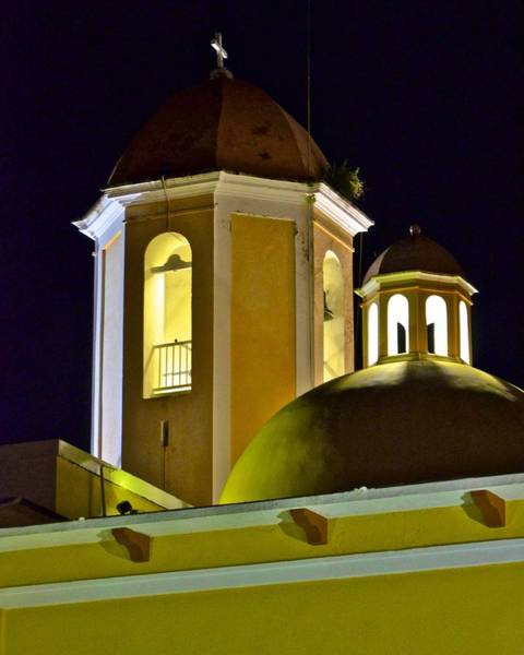 Photograph - Sabana Grande Catholic Church Domes by Ricardo J Ruiz de Porras