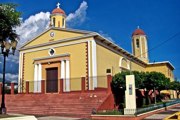 Photograph - Sabana Grande Catholic Church by Ricardo J Ruiz de Porras