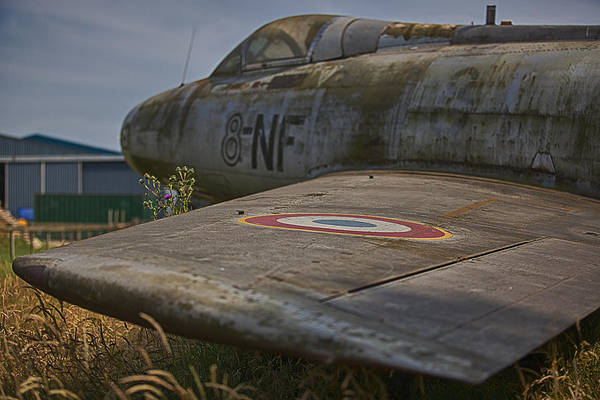 Jet Fighter Photograph - Sabre Decay by Nigel Jones