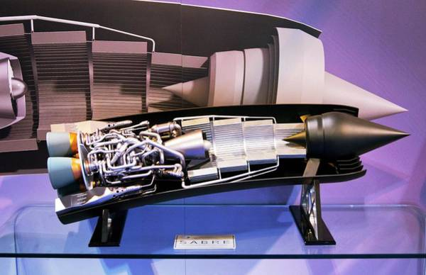 Alan Photograph - Sabre Spaceplane Engine. by Mark Williamson/science Photo Library