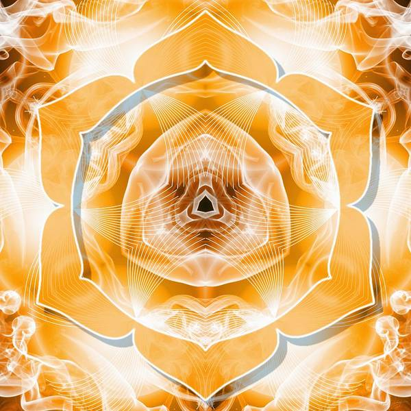 Digital Art - Sacral Chakra Cancer by Derek Gedney