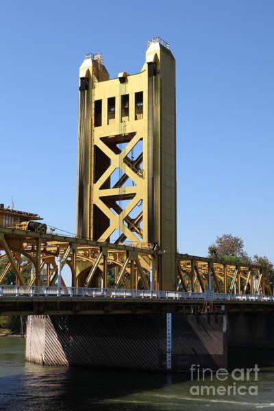 Sacramento California Tower Bridge 5d25528 Art Print