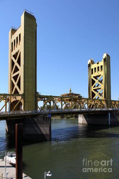 Sacramento California Tower Bridge 5d25529 Art Print