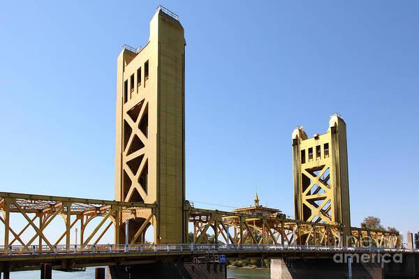 Sacramento California Tower Bridge 5d25530 Art Print