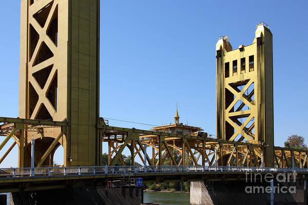 Sacramento California Tower Bridge 5d25532 Art Print