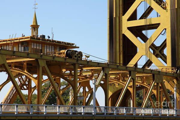 Sacramento California Tower Bridge 5d25539 Art Print