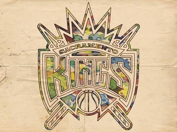 Painting - Sacramento Kings Poster Art by Florian Rodarte