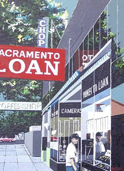 Sacramento Loan Art Print by Paul Guyer
