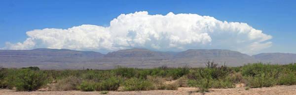 Lurking Photograph - Sacramento Mountains Storm Clouds by Jack Pumphrey