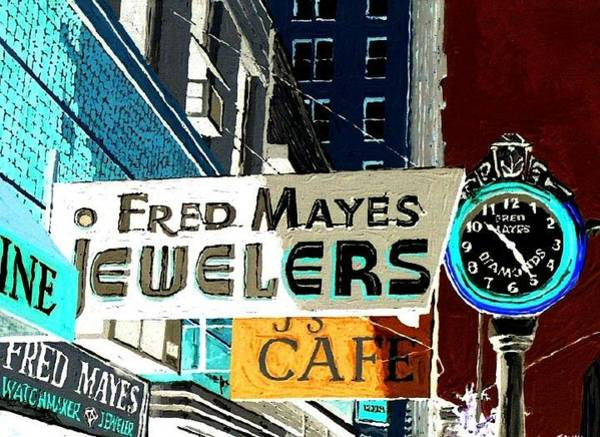Wall Art - Painting - Sacramento by Paul Guyer