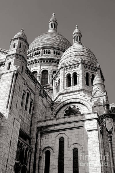 Sacred Heart Photograph - Sacre Coeur Architecture  by Olivier Le Queinec