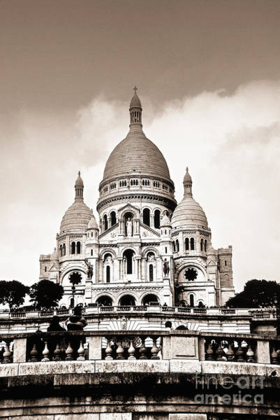 Wall Art - Photograph - Sacre Coeur Basilica In Paris by Elena Elisseeva