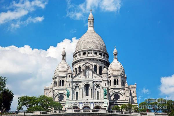 Cours Photograph - Sacre Coeur Basilica Paris France by Michal Bednarek