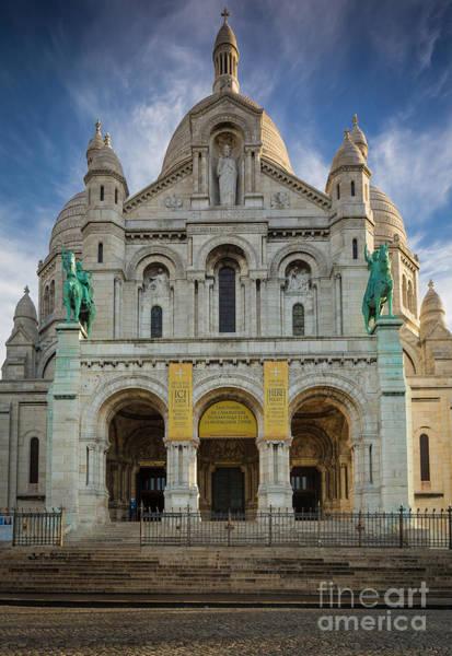 Photograph - Sacre Coeur Entrance by Inge Johnsson