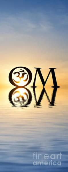 Om Wall Art - Photograph - Sacred Aum by Tim Gainey