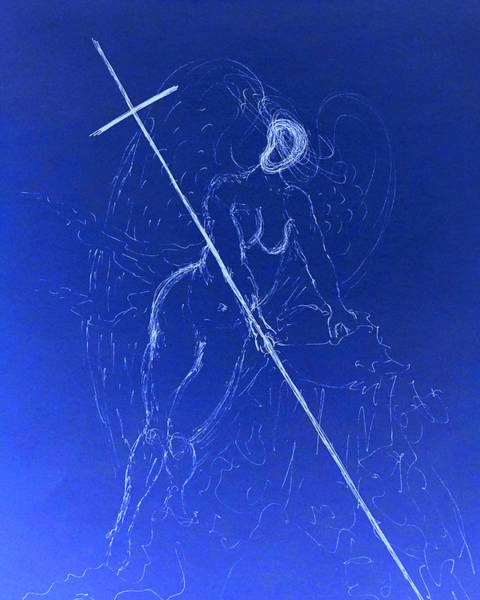 Drawing - Sacred Feminine II by Giorgio Tuscani