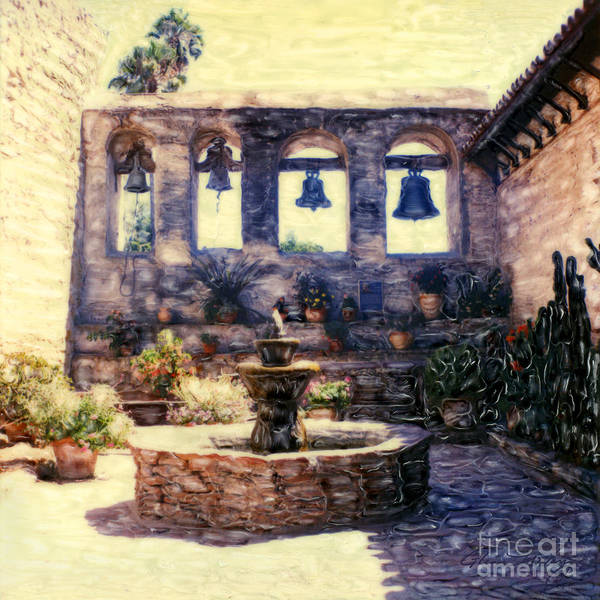 Mixed Media - Sacred Garden Of  San Juan Capistrano by Glenn McNary