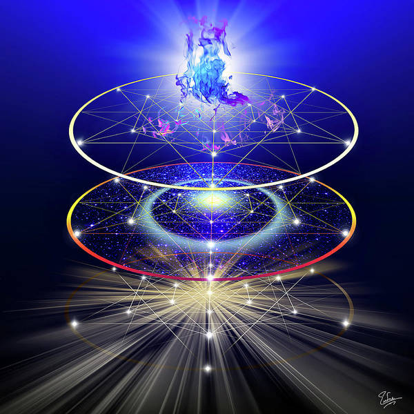 Digital Art - Sacred Geometry 29 by Endre Balogh