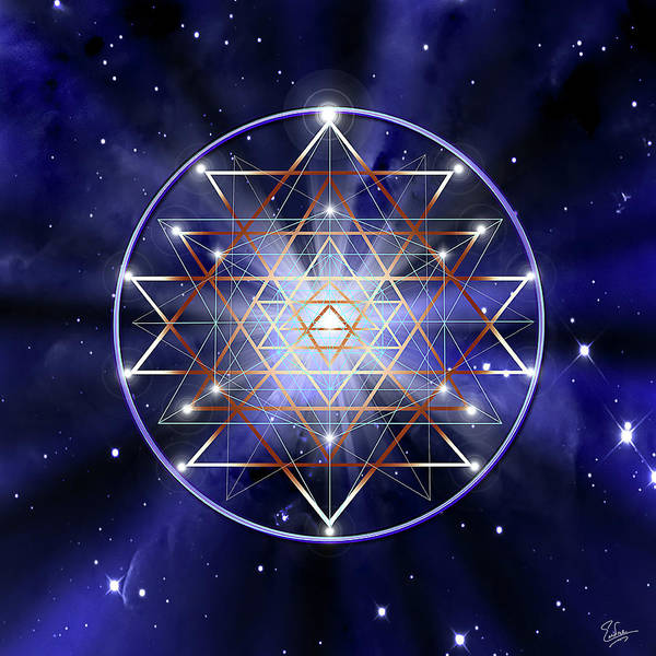 Digital Art - Sacred Geometry 32 by Endre Balogh
