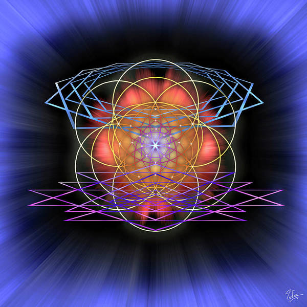 Digital Art - Sacred Geometry 52 by Endre Balogh